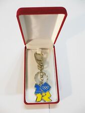 London 2012 Olympic Games Official Ukraine Team Members Keyring with case NICE!!