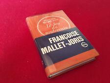Françoise Mallet-Joris  Le jeu du souterrain  (1973)