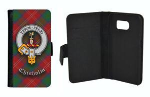 Chisholm Clan Flip Case for Apple iPhone & Samsung Galaxy - Scottish