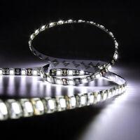 5M Cool White Waterproof Light Strip 300 LED 5050 SMD 60LEDs/M 12V Black PCB
