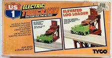 TYCO US1 ELECTRIC TRUCKING HO SCALE #3416 ELEVATED LOG LOADER