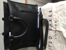 Ted Baker Hayyle Laptop Leather Tote Shoulder Bag Black Brand New tags Genuine