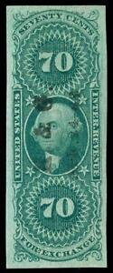 momen: US Stamps #R65a Used HANDSTAMP Revenue XF+ PSAG Cert