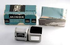 Vintage Collectible 1950s Minox Spy Camera Reflex Finder Range Finder In Box