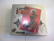 Lethal Strike Krome Productions Chromium 1997 Box of Cards