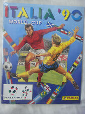 ITALIA 90 WORLD CUP - PANINI OFFICIAL REPRINT, COMPLETE ALBUM, NEW & SEALED.!