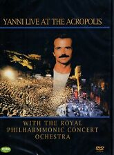 YANNI  LIVE AT THE ACROPOLIS - Region 2 Compatible DVD (UK seller!!!) NEW