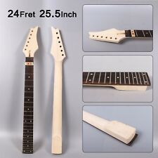Maple Guitar Neck Rosewood Fretboard 24Fret bolt on Fit Ibanez Style Electric