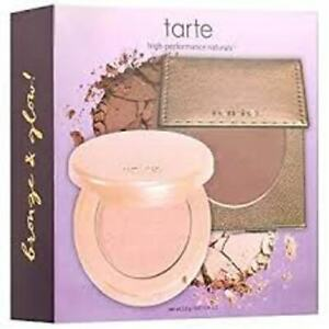 Tarte Glow Girls Bronze & Glow Highlight Duo - 0.077 oz. ea. NEW IN BOX