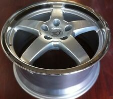 Hamann Hm2 18 X 8.5 ET 38 5:120 Silver Genuine  Made In Germany Set Of 4 Wheels