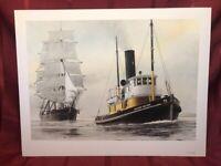 """Richard Holyoke"" by Steve Mayo 1981 Signed Watercolor"