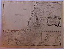 Terra Chanaan Ancien Testament Religions Sanson d'Abbeville circa 1650