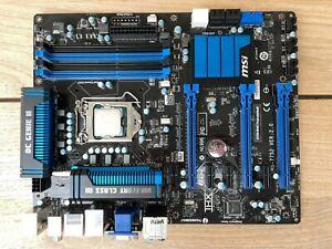 Mainboard MSI Z77A-G45 Thunderboldt incl. Intel I5-3570K