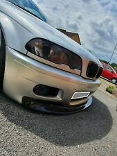 BMW 3 e46 CSL style front lip for m3 bumper / replica m3 bumper