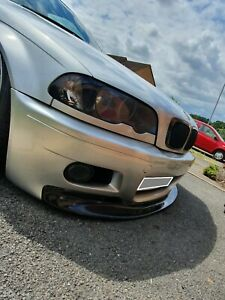 BMW 3 e46 CSL style front lip for m3 bumper / replica m3 bumper