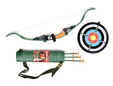 Toy Kids Bow and Arrow Set Children LED Hunting Archery Great Educational Gift