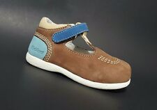 Brand New $80 KICKERS Kids Toddler Boys Shoes LEATHER Brown Size 6 USA/22 EURO