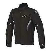 Alpinestars Megaton waterproof drystar black motorcycle/motorbike jacket was£230