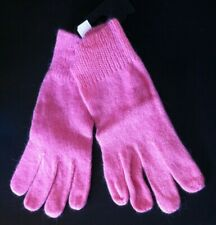 Vintage 1989 Super-Soft Ladies Lambswool Angora Fluffy Gloves One Size. R17 NEW!