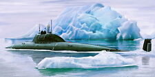 1/350 Alpha (Lira type 705K) Soviet atomic submarine -  Mikromir!