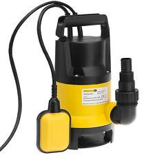 Bomba sumergible para aguas sucias 650W 11.500 l/h Multiadaptador Pozos Estanque