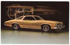 1973 GM PONTIAC Le Mans Carte Publicitaire Goyette Automobile CHAMBLY Quebec