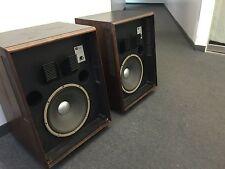 JBL L200 Studio Master Speakers w/ Genuine JBL Woofer E140-8 - Excellent