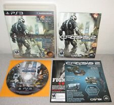 CRYSIS 2 Limited Edition PlayStation 3 w/Manual Black Label CRYTEK Shooter PS3