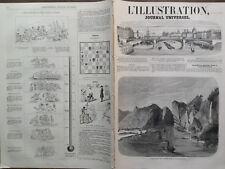LA ILUSTRACIÓN 1859 NO 837 PASO DOS PILARES DANS LE YANG-TZE-KIANG