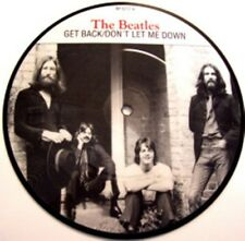 Beatles, Get Back, NEW/MINT Ltd edition PICTURE DISC 7 inch vinyl single