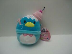 "Squishmallow Tuxedosam Claire's Hello Kitty Kelly toy 5"" inch Sanrio NWT WW Ship"