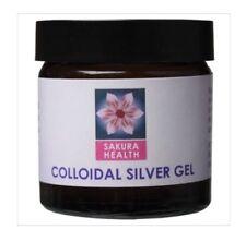 ✅Natural Colloidal Silver Gel 60ml - Sakura Health - Soothes Sensitive Skin