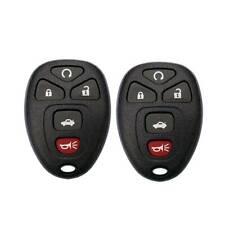 2 For Chevrolet Malibu 2009 2010 2011 2012 5b Keyless Remote Start Car Key Fob