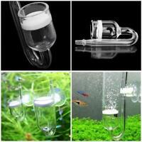 Aquarium Fish Tank CO2 Diffuser Glass U-Tube Carbon Dioxide Reactor Atomizer NEW