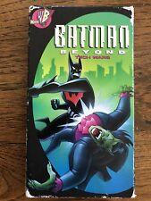 Batman Beyond Tech Wars VHS Animated WB Kids DC Superhero