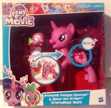 My Little Pony The Movie Princess Twilight Sparkle & Spike The Dragon New MISB