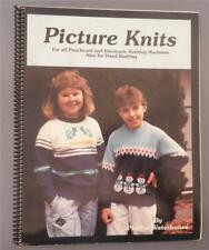 Picture Knits for Knitting Machines and Hand Knitting Book Patterns Waterhouse