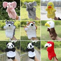 Cute Cartoon Animal Doll Kids Glove Hand Puppet Soft Plush Toys Story Telling 5H