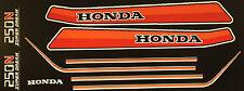 HONDA CB250N PAINTWORK DECAL SET