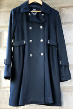 CINO Elegant Black Victorian Style Light Jacket/Coat w/ Side Buckles sz Medium