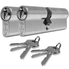 YALE Euro Cylinder Door Lock 1 Star High Security Keyed A Like Pair uPVC Doors