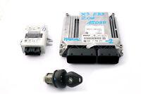 BMW X3 Series E83 2.0d 150HP Engine ECU Kit DDE EWS3 Key 7796571 Manual