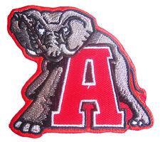 New NCAA U of Alabama Crimson Tide Logo embroidered iron on patch. (i171)