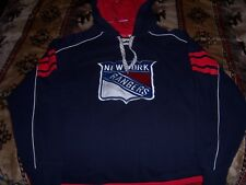 NEW YORK RANGERS HOODIE ADULT SMALL