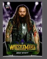 2018 TOPPS WWE Road to Wrestlemania 34 ROSTER #4  BRAY WYATT