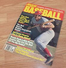 Vintage 1976 Argosy Complete Analysis of all 24 Teams Baseball Yearbook Magazine