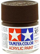 TAMIYA COLOR ACRYLIC XF-64 Red Brown MODEL KIT PAINT 10ml NEW