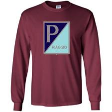 Piaggio, Vespa Scooter - G240 Gildan LS Ultra Cotton T-Shirt
