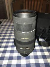 Sigma EX 120-400mm F/4.5-5.6 IS HSM DG OS Lens For Nikon but read description