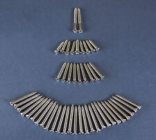 56 57 Chevy 4-Door Hardtop Interior Garnish Screw Set 1956 1957 Chevrolet New